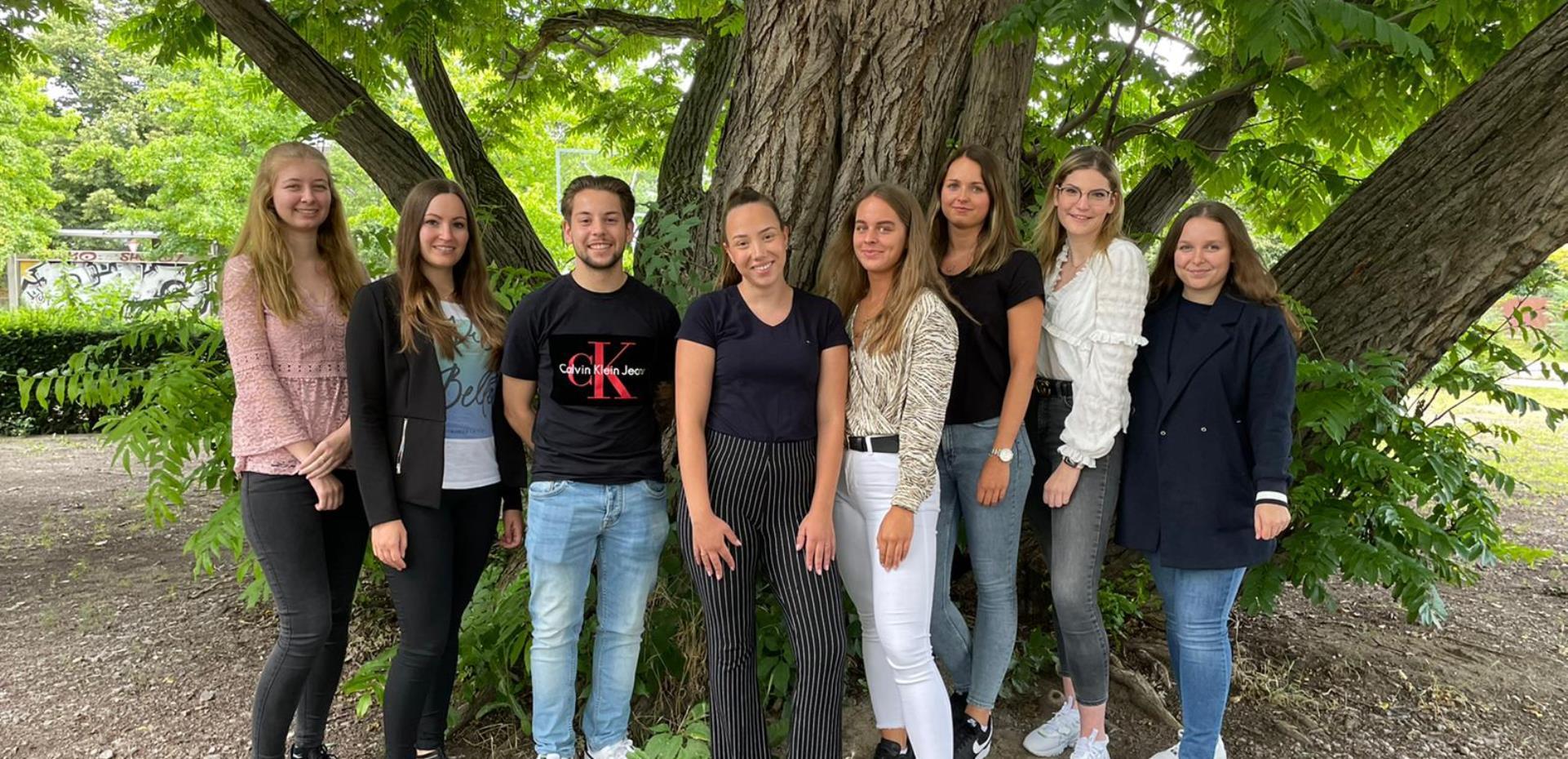 Gruppenbild Auszubildende der BKK Pfalz
