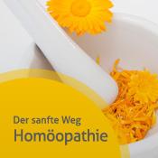 Mörser mit gelben Blüten - weiter zu Infos über unsere Homöopathieleistungen