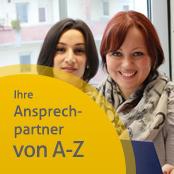 Zwei Mitarbeiterinnen der BKK Pfalz
