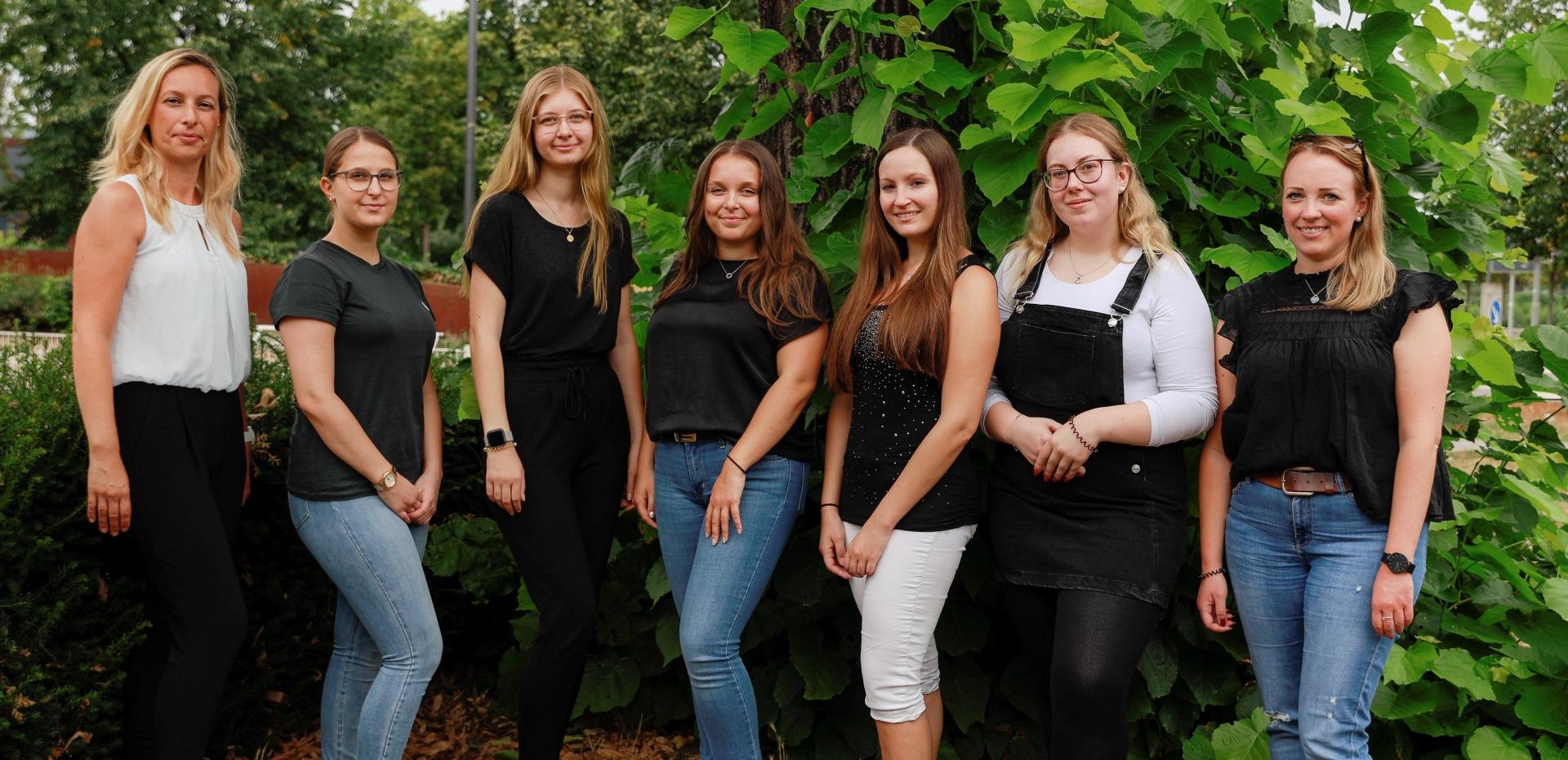 Gruppenbild der Auszubildenden der BKK Pfalz