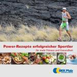 Titelseite Sportlerrezeptbroschüre
