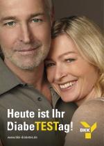Plakat Diabetes-Kampagne