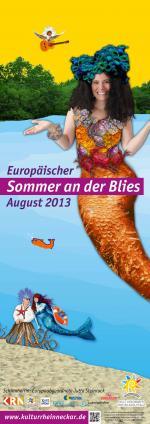 Plakat Veranstaltung Sommer an der Blies