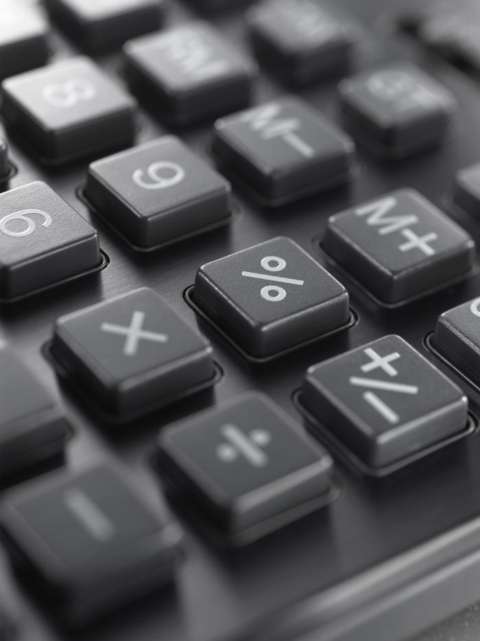 Tastatur Taschenrechner