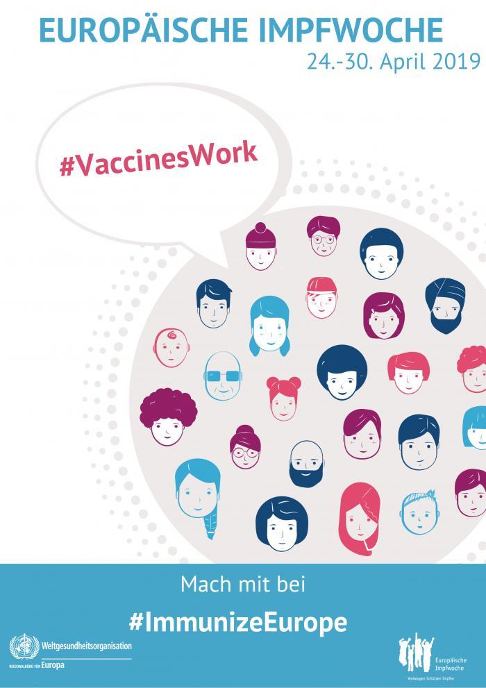 Europäische Impfwoche 2019