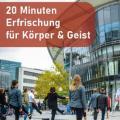 """Plakat der Aktion """"Bewegte Mittagspause"""" in Ludwigshafen"""